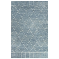 Jaipur Tangier Rug From Nostalgia Collection NS04 - Blue/Ivory