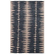 Jaipur Tear Drops Rug From En Casa By Luli Sanchez LST27 - Blue/Ivory