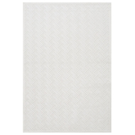 Jaipur Thatch Rug From Fables Collection FB44 - Ivory/White