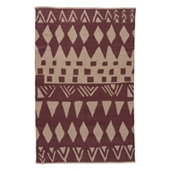 Jaipur Tiebele Rug From National Geographic Home Collection NGC07 - Purple/Gray