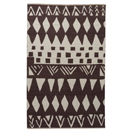 Jaipur Tiebele Rug From National Geographic Home Collection NGC05 - Brown/Neutral