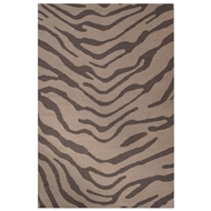 Jaipur Tiger Rug From National Geographic Home Collection NGF04 - Dark Gray