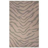 Jaipur Tiger Rug From National Geographic Home Collection NGF05 - Gray
