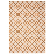 Jaipur Trinity Rug From Bloom Collection BLO09 - Taupe/Orange