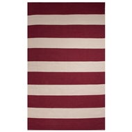 Jaipur Trion Rug From Sonoma Collection SON05 - Red/White