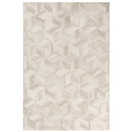Jaipur Warwick Rug From Bristol by Rug Republic Collection BRI26 - Ivory/Gray
