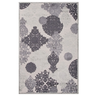 Jaipur Wistful Rug From Fables Collection FB80 - Ivory/Gray