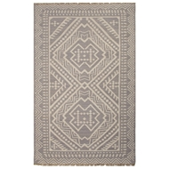 Jaipur Yao Rug From Batik Collection BAT04 - Gray/Ivory