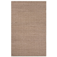 Jaipur Yoko Rug From Naturals Tobago Collection NAT10 - Taupe/Ivory