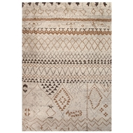 Jaipur Zamunda Rug From Zuri Collection ZUI05 - Ivory/Taupe