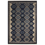 Jaipur Zebulon Rug from Anatolia Collection - Patriot Blue