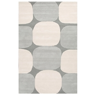 Jaipur Zenia Rug From Lounge Collection LOE07 - Gray/Ivory