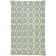 Jaipur Aarya Rug from Maroc Collection - Aqua Foam