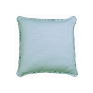 Lili Alessandra Battersea European Pillow - Sea Foam Silk & Sensibility L807LSF