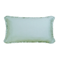 Lili Alessandra Battersea Sea Foam Silk & Sensibility - King Pillow