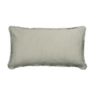 Lili Alessandra Battersea Taupe Silk & Sensibility - King Pillow