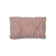 Lili Alessandra Coco Rectangle Pillow - Blush Sheer L362RBL
