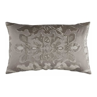 Lili Alessandra Morocco Small Rectangle Pillow - Taupe & Fawn L582T