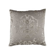 Lili Alessandra Morocco Square Pillow - Taupe & Fawn L582ST