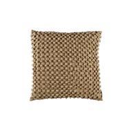 Lili Alessandra Ribbon Ecru Silk & Sensibility - Square Pillow
