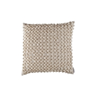 Lili Alessandra Ribbon Ivory Silk & Sensibility - Square Pillow