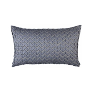Lili Alessandra Ultra Large Pillow - Pewter L510DP