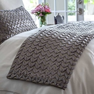 Lili Alessandra Ultra Throw - Pewter LT510P