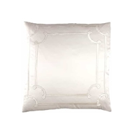Lili Alessandra Vendome European Pillow - Ivory L517LI