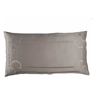 Lili Alessandra Vendome King Pillow - Taupe & Fawn L517KT