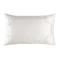 Lili Alessandra Vendome Small Rectangle Pillow - Ivory L517I