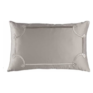 Lili Alessandra Vendome Small Rectangle Pillow - Taupe & Fawn L517T