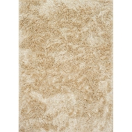 Loloi London Shag Area Rug - Beige & Ivory