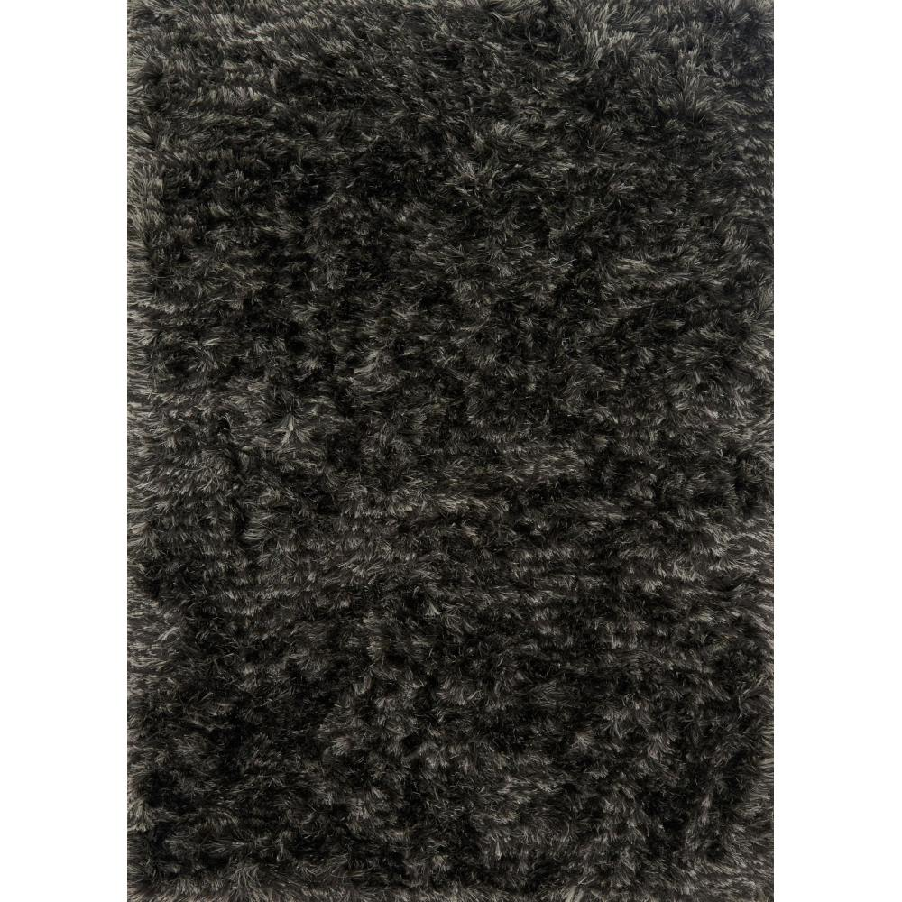 Loloi London Shag Area Rug - Charcoal & Silver - Hand-Tufted