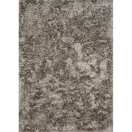 Loloi London Shag Area Rug - Taupe & Ivory - Hand-Tufted