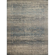 Loloi Millennium Area Rug - Grey & Blue - Power-loomed