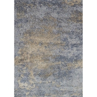 Loloi Patina Area Rug - Ocean & Gold - Power-loomed