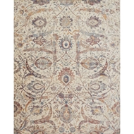 Loloi Porcia Area Rug - Ivory & Multi - Power-loomed