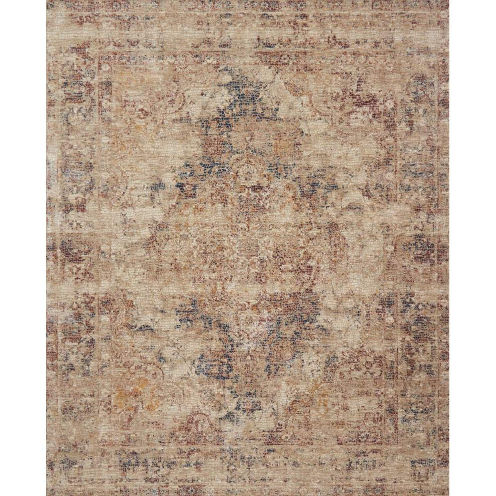 Loloi Porcia Area Rug - Ivory & Ivory - Power-loomed