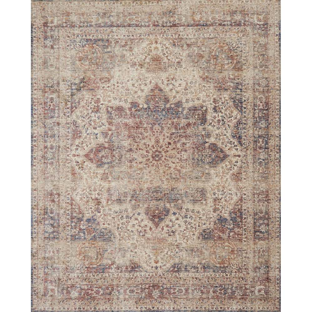 Loloi Porcia Ivory Amp Red Pb 05 Transitional Area Rugs