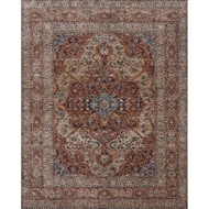 Loloi Porcia Area Rug - Adobe Spice & Adobe Spice - Power-loomed