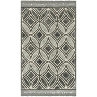 Loloi Echo Area Rug - Charcoal - Polyester & Cotton