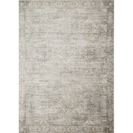 Loloi Griffin Area Rug - Grey & Gold - 100% Viscose