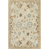 Loloi Julian Area Rug - Ivory & Multi - 100% Wool