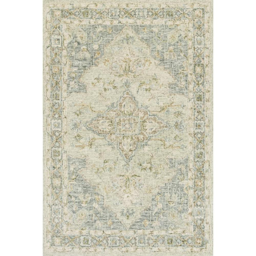Loloi Julian Area Rug Seafoam Green Spa