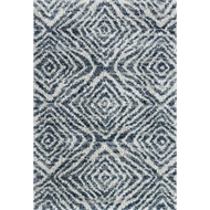 Loloi Quincy Area Rug - Ocean & Pebble - 100% Polypropylene