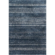 Loloi Quincy Area Rug - Navy & Pewter - 100% Polypropylene