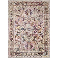 Loloi Silvia Area Rug - Natural & Multi - 100% Polypropylene