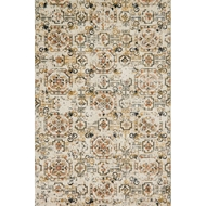 Loloi Torrance Area Rug - Ivory & Taupe - 100% Microfiber Polyester