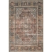 Loloi Loren Area Rug - Brick & Midnight - 100% Polyester