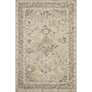 Loloi II Beatty Area Rug - Beige & Ivory - 100% Wool